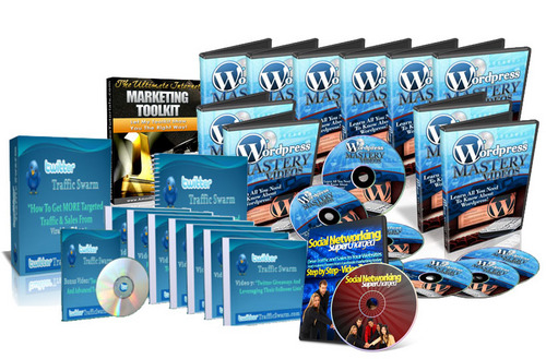 Product picture Package Video Tutorials MRR (WORDPRESS FACEBOOK TWITTER MARK