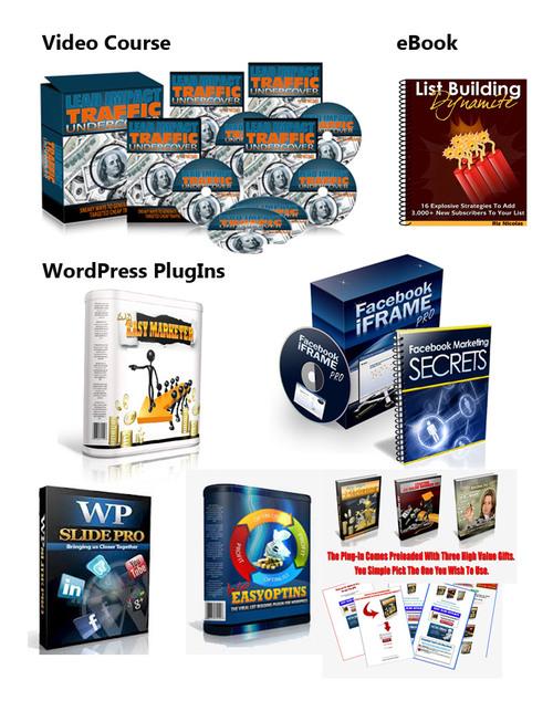 Product picture IM Essentials Plugins, Traffic Videos & List MRR-PLR