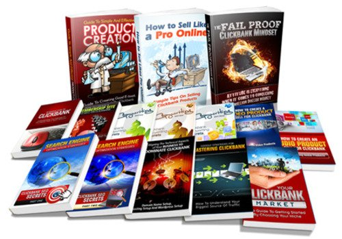 Product picture Clickbank Crash Course -High Quality eCourse Volume 1-15 MRR