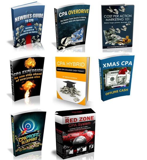Product picture 8 CPA (Cost Per Action) Ebooks and Videos Package MRR-PLR